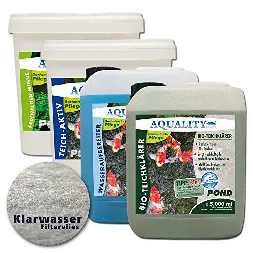 AQUALITY - Teichpflege-Set XXL